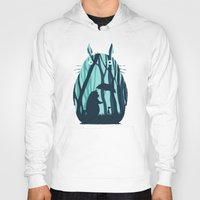 grand theft auto Hoodies featuring My Neighbor Totoro by filiskun