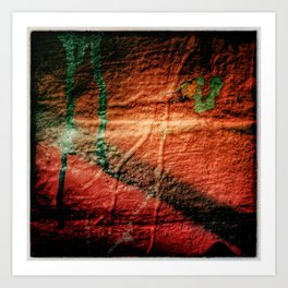Texture abstraction Art Print