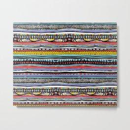 patterns of color Metal Print