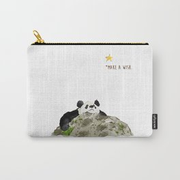 Panda - Make a wish Carry-All Pouch