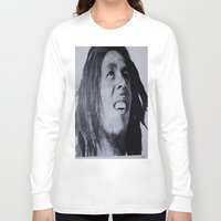marley Long Sleeve T-shirts featuring Marley  by DreWalks