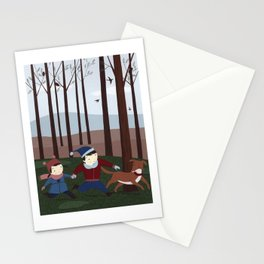 In the forest 1 Stationery Cards