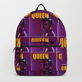 Femme Fatale Film Noir Queen Backpack