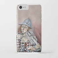 clown iPhone & iPod Cases featuring Clown by SilviaGancheva