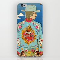 dylan iPhone & iPod Skins featuring Bob Dylan by Susan Burghart