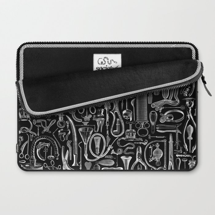 Medical Condition BLACK Laptop Sleeve
