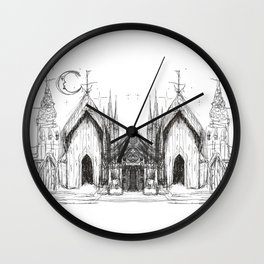 Someplace Magical Wall Clock