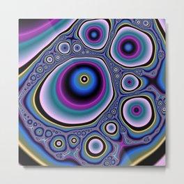 abstract cirles Metal Print