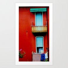 The Windows Art Print