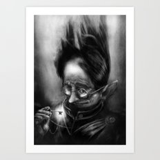 Gatekeeper of Oz Art Print
