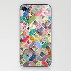 Betty's Diamond Quilt iPhone & iPod Skin