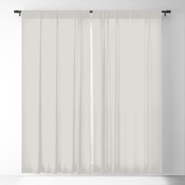From The Crayon Box – Timberwolf Gray - Light Gray Solid Color Blackout Curtain