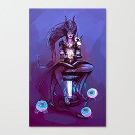 Illustration ; Symmetra Canvas Print