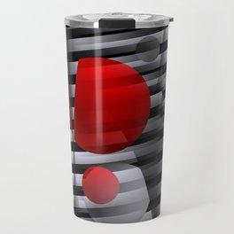 3D - abstraction -38- Travel Mug
