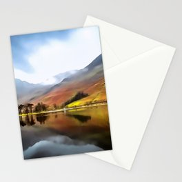Buttermere (Painting) Stationery Cards