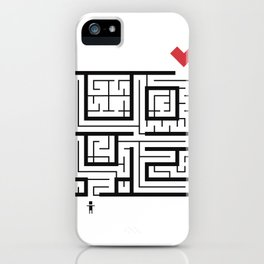 The Path of Love iPhone Case