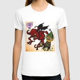 Demon and Dwarf Color T-shirt