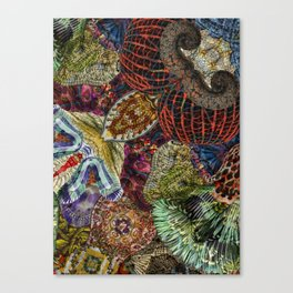 Psychedelic Botanical 7 Canvas Print