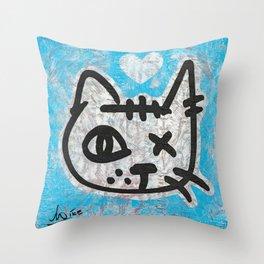 Signature Cat Throw Pillow