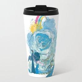 i love my planet 2 Travel Mug