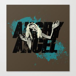 Orphan Black - Angry Angel Canvas Print