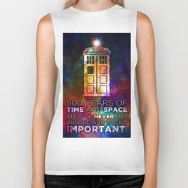 Time and Space Biker Tank