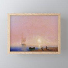 Farewell by Ivan Aivazovsky Framed Mini Art Print