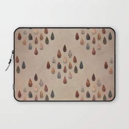 Arrowheads Diamond - Vintage Tones Laptop Sleeve