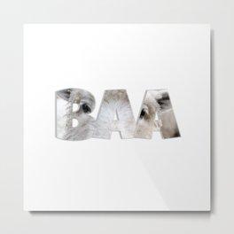 Baa Metal Print