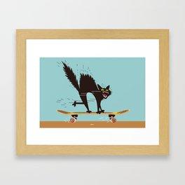 Skater Scater Framed Art Print