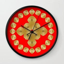 Fleuron Composition No. 82 Wall Clock