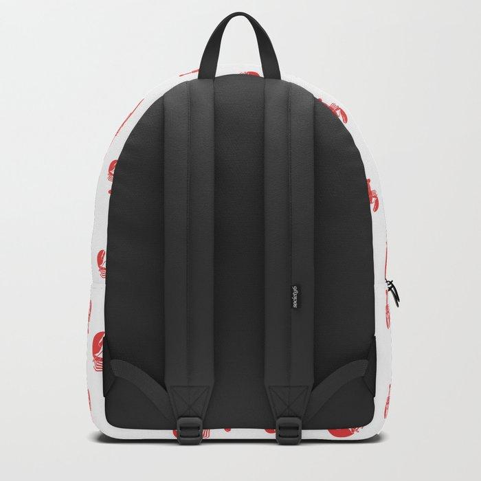 Lobster addiction. Backpack