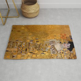 The Woman in Gold Rug