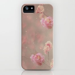 Rose, rose, red rose,  Rose in the heather... iPhone Case