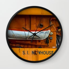 The Ferry Boat Newhouse Wall Clock