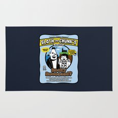 Sloth and Chunk's Ice Cream Rug
