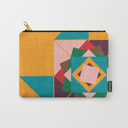 wind rose yellow Carry-All Pouch