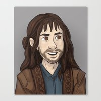 kili Canvas Prints featuring Kili by quietsnooze