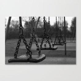 Moody swings Canvas Print