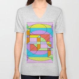 """Cube This"" Unisex V-Neck"