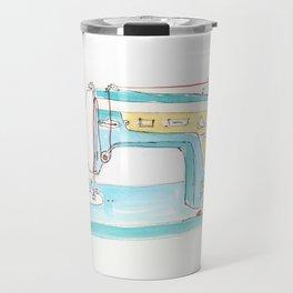 Vintage Fleetwood Sewing Machine Travel Mug