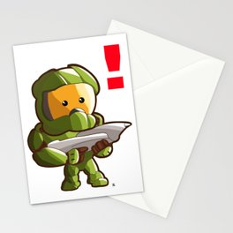Halo Master Chief Kawaii Stationery Cards