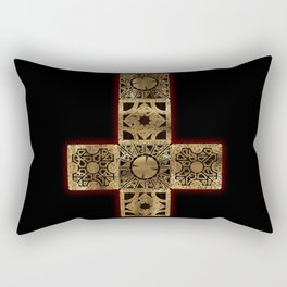 Lament Configuration Cross Rectangular Pillow