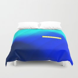 IMAGINE gradient no1 Duvet Cover