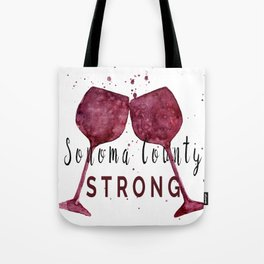Sonoma County Strong Tote Bag