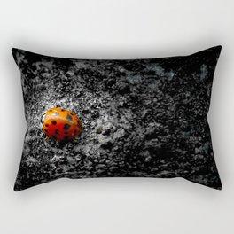 Lovely Ladybug Rectangular Pillow
