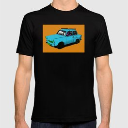 Trabant blue pop T-shirt