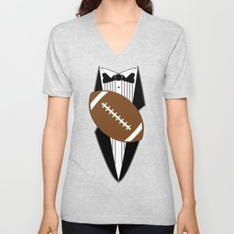 The Room Tuxedo Shirt Unisex V-Neck