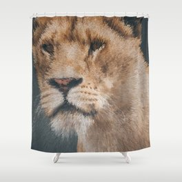 goosebumps Shower Curtain