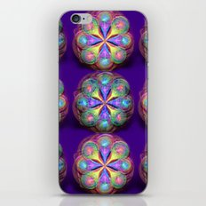 Fractal Buttons iPhone & iPod Skin